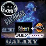 DJ Daddy Mack(c) mix July Billboard + MM 2017 Mix Tape CD size