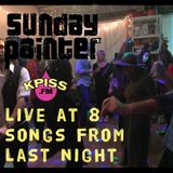 Sunday Painter's songs from last night (music only)