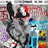 Nos visitó Gabi Borrelli Azara, #10AñosFLIA, #ElWalkmanDeLali, #Manifiesto censura del lenguaje