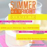 Summer Get Right Presents: Summer Fridaze Ep.3 Mixed by DJ Nina Azucar