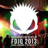 Merkurius live @ FDJQ 2013
