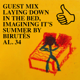 GUEST MIX LAYING DOWN IN THE BED, IMAGINING IT'S SUMMER BY BIRUTĖS AL. 34