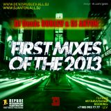 DJ DENIS RUBLEV & DJ ANTON - FIRST MIXES OF THE 2013 (PART 1) Commercial mix