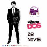 Entrevista a Gabriel Porras promocionando Las Quiero a las Dos en WEEK ON Radio