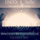 ONDEX & SKRV LondonsEnergyRadio Podcast 16th Feb