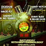 Crystal clear Family Dub appreciation & Zige Dub 16 September 17