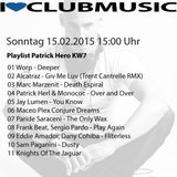 Patrick Hero - I LOVE CLUBMUSIC on BN Radio KW 07_15