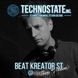 BeatKreator ST Guest Mix Technostate Inc. @ Diesel_FM