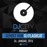 DJ FlashCAT - DJcity DE Podcast - 26/01/16