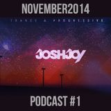 JoshJoy Podcast #1 (November2014)