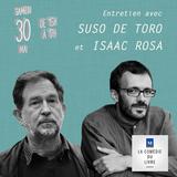 30ème édition de la Comédie du Livre - Entretiens avec Isaac Rosa et Suso De Toro