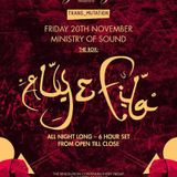 Aly & Fila – Live @ Ministry Of Sound (Part I)[20.11.2015]
