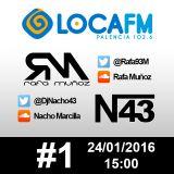 #1 Rafa Muñoz & Nacho Marcilla @LocaFMPalencia