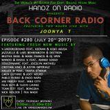 BACK CORNER RADIO: Episode #280 (July 20th 2017)