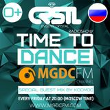 CRSTL - TIME TO DANCE #006 (Special Guest Mix by KOCMOC) @ MGDC FM [RUSSIAN DANCE CHANNEL]