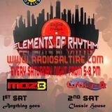 Elements Of Rhythm Moz-B, Craig Adams & Tony Fulthorp 19.01.19