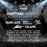 Labor Day Weekend 92.3 Amp Radio Mix (2017)