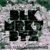 BLK.MRKT.BTZ - Live @ Elec*Tric Tuesdays 11-27-12 [Full Mix] [DnB]