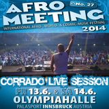 Afromeeting 2014 - Corrado mix session