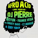 Eddy Yorch Afro Acid label showcase @ Primary Chicago 4-27-17