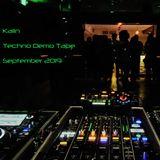 Kalin - September 2019 Techno Demo Tape