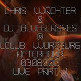 Chris Wächter, DJ Blueglasses - LClub Würzburg 03.08.2013 LIVE Part 1