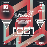 Wicked 7 @ Cafe 1001, London - Digital Mike B2B CK - 16.12.2017