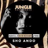 -=[ JUNGLE EXPERIENCE PRESENTS ]=-  JUNGLE SESSIONS #002 - SHO ANDO