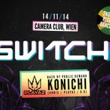 DJ RED-I (CINO) / MC'S INJA / JIMMY DANGER & BOMBA @ SWITCH! 14/11/14
