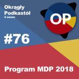 #76 Program MDP