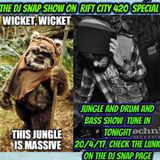 rift city dj snap 420 special  on 4/20/17 jungle and drum and bass
