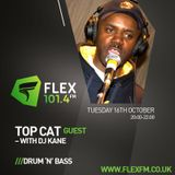 DJ Kane with guests Topcat & Jah Prento Youth (Interview) Flex FM 16.10.18