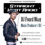 Straight Heat Radio - April 2016 - DJ Fourd Nkay X WestsideFlip