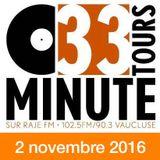 33 TOURS MINUTE - Le meilleur de la musique indé - 02 novembre 2016