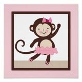 Ballerina Monkey Party