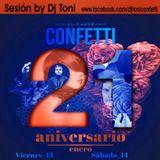21º Aniversario De Confetti (2017)