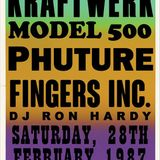 IMAGINARY CONCERTS #4 | KRAFTWERK | MODEL 500 | PHUTURE | FINGERS INC.| DJ RON HARDY