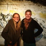 Flora meets Andy Parkin, one of the world's most renowned climbers (and also an amazing artist!)