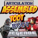 Episode 012 - Marvel Legends Ultron vs Hulkbuster: Toot or Boot