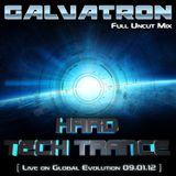 Galvatron Live on Global Evolution 09.01.12