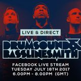 Drumsound & Bassline Smith - Live & Direct #47 [18-07-17]