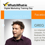 WhatsWhat.ie digital training day on The Dublin Business Show