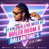 Dj kalonje live at boiler room ballentine