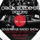 Orkun Bozdemir - FG Sunday Residents - 09.12.2012- SOUL REVUE RADIO SHOW