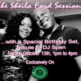 The Sheila Ford Sessions on Cyberjamz Radio   DJ Spen  Birthday Tribute Part 3 10-13-2017