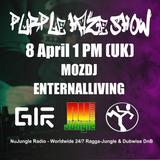 Purple Haze Show - ENTERNAL LIVING & MOZDJ @ NuJungle.Com (08.04.2016)