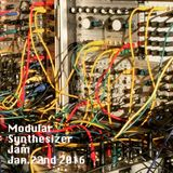 Hataken - Modular Synth Jam on Techno. Jan22nd2016