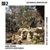 Rare Species w/ John Tiangco - 2nd October 2017
