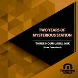 Dr Riddle - Two Years Of Mysterious Station (Label Mix)