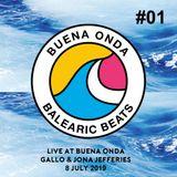 Live at Buena Onda #01 - Gallo & Jona Jefferies